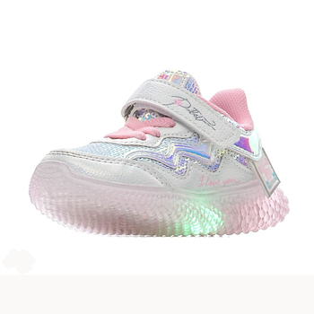bessky/Light-colored fashionable shoes for children, comfortable casual shoes with pu texture for girls, and fashionable shoes