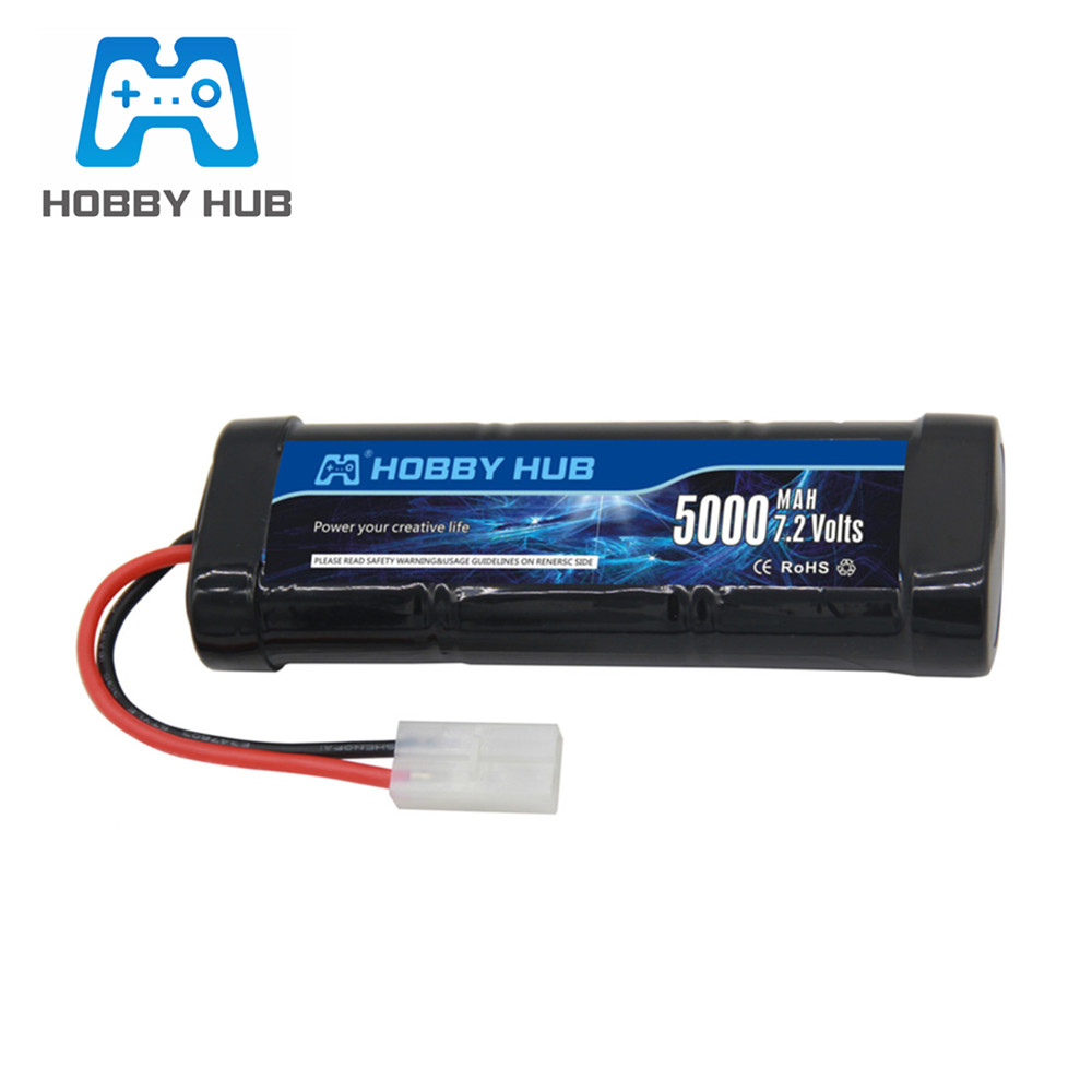 SC*6 Cells 7.2V 5000mAh 15c Rechargeable Ni-MH <font><b>Battery</b></font> Pack for RC toys Cars Boats <font><b>7.2</b></font> <font><b>v</b></font> <font><b>Battery</b></font> with Tamiya Plug image