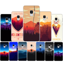 Firewatch Silicone Phone Case for Samsung