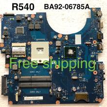 BA92-06785A для samsung NP-R540 R540 Материнская плата ноутбука BREMEN-C BA41-01219A motherboard100% полностью протестировано работы