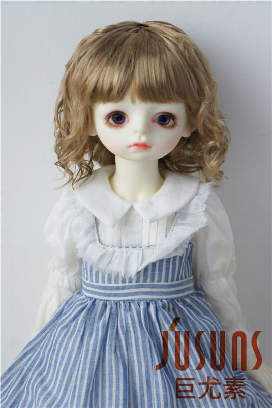 JD260 Large Size 9 10 inch 10 11inch Doll Wig Pretty synthetic mohair BJD wigs Lady slight Wave doll hair doll accessoriesDolls Accessories   -