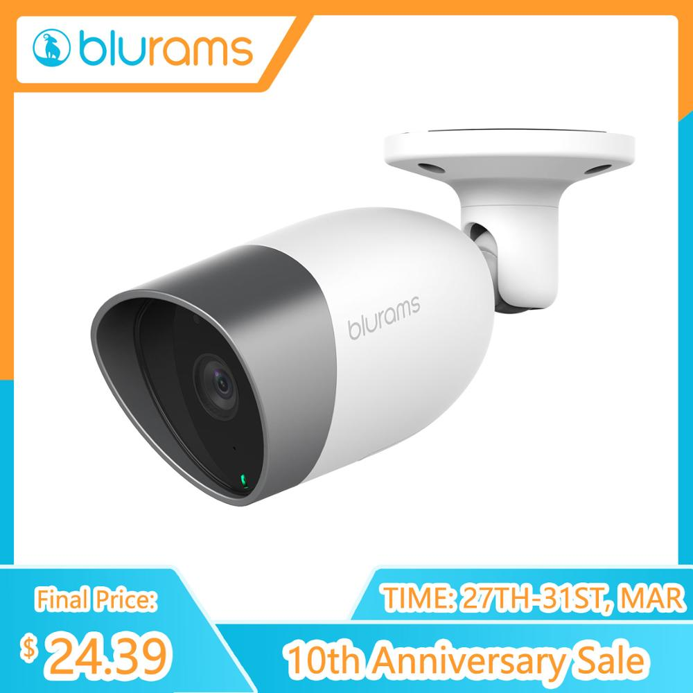 Blurams Outdoor Lite 1080p FHD Wireless IP Cam System CCTV Bullet Outdoor Camera With Smart Detection
