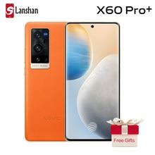 Mais novo duplo 5g vivo x60 pro + smartphone 5nm cpu snapdragon 888 120hz tela taxa de atualização 4200mah 55w flashcharging nfc celular