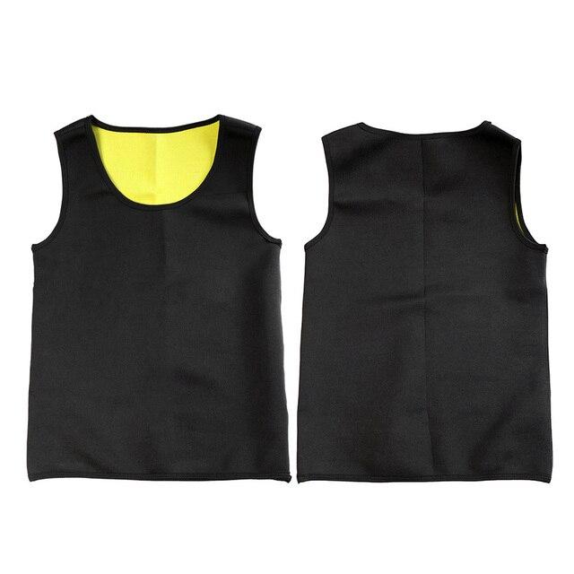 Slimming Belt Belly Men Slimming Vest Body Shaper Neoprene Aben Burning Shapewear Waist Sweat Corset Weight Dropshipping-M 1