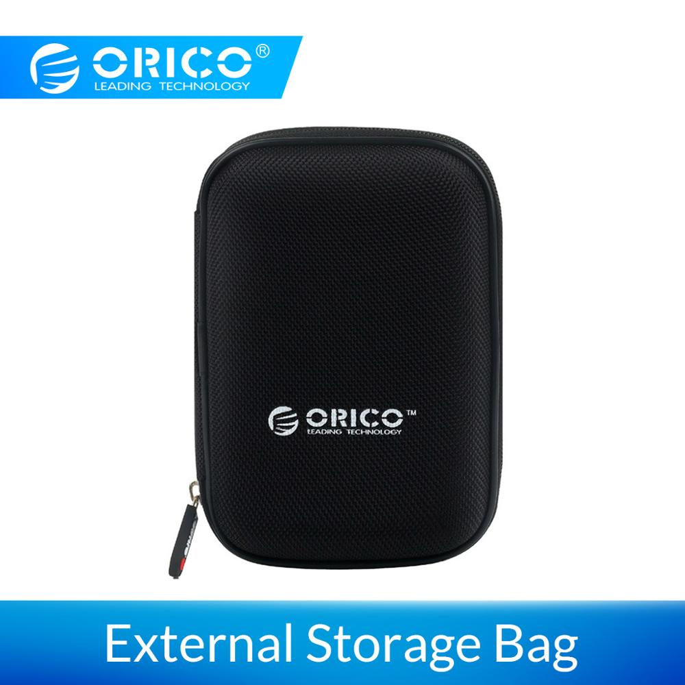 ORICO 2.5 Inch HDD Protection Box Bag Case For External Portable HDD Portable Bag Hard Drive Power Bank USB Cable Storage Case
