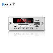 Kebidu Bluetooth V5.0 MP3 Bộ Giải Mã Module USB Không Dây MP3 Cầu Thủ Khe Cắm Thẻ TF/USB/FM/Điều Khiển Từ Xa cho Loa Điện Thoại