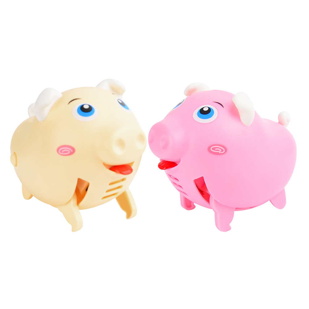 Running Pig Pet Teasing Squeak Chew Toy Puppy Toy Sound Voice Dog Toys For Dogs Plastic Made For Boys Girls Gift