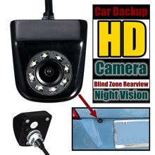 Car Backup Camera 12V 8LED 170 Degree Fish Eye Lens Starligh