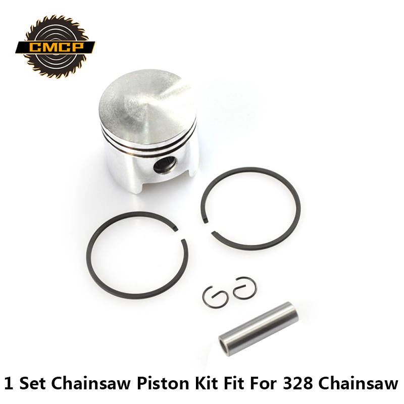 1 Set 36mm Cylinder Piston Ring Pin Kit Fit For Chainsaw 328 Chainsaw Spare Parts Chainsaw Piston Set