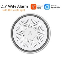 Tuya WiFi Smart DIY Wireless Security Alarm with iOS Android APP Amazon Alexa Google Home Voice Control IP Camera Monitoring