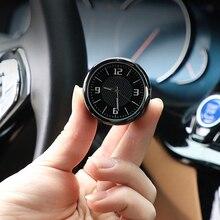 New Arrival Car Digital Clock Auto Watch Decora Ornament Clock for Mini Cooper Countryman Union Jack Car Interior Accessories