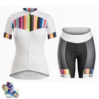 Ropa de ciclismo para hombre y mujer, ropa de manga corta para...