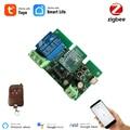 Tuya Zigbee Switch Module With RF433 Zigbee Inching Switch 5-32V DIY Switch Work with Alexa Smartthing Zigbee APP Remote Control