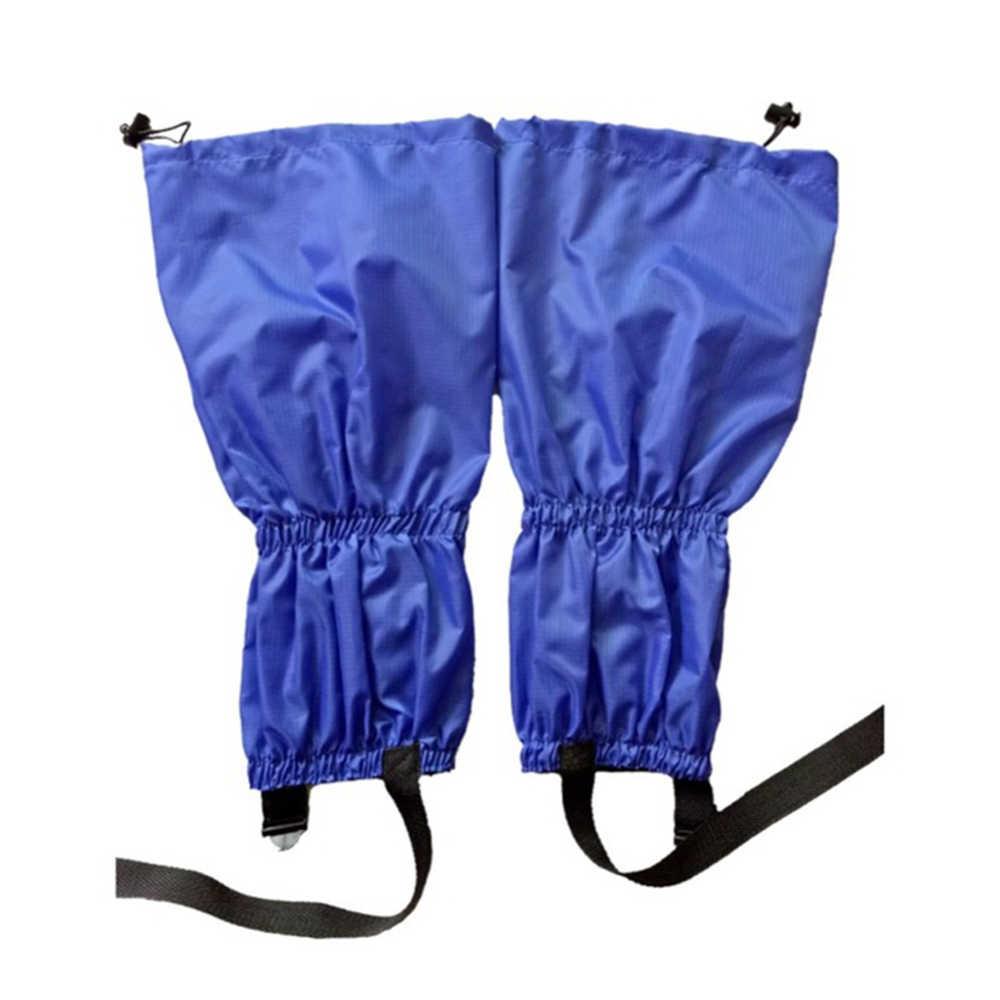 Impermeable a prueba de arena ciclismo cubierta de zapatos al aire libre senderismo escalada esquí pierna cubierta de mallas botas de esquí polainas de nieve invierno