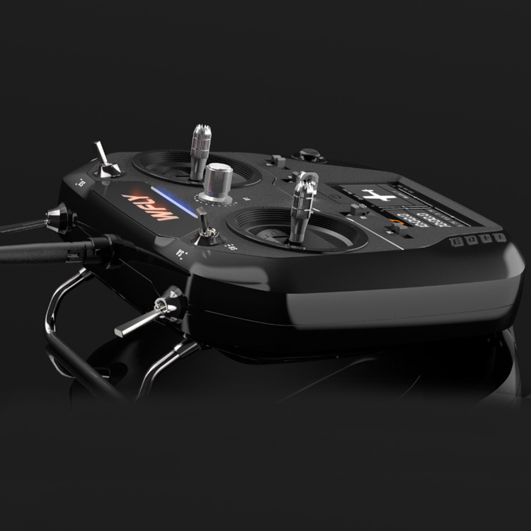 WFLY Et07 New Style Model Airplane Type Remote Control 10 Pass 2.4G Chinese Touch Screen Airplane Transmitter Genuine Product