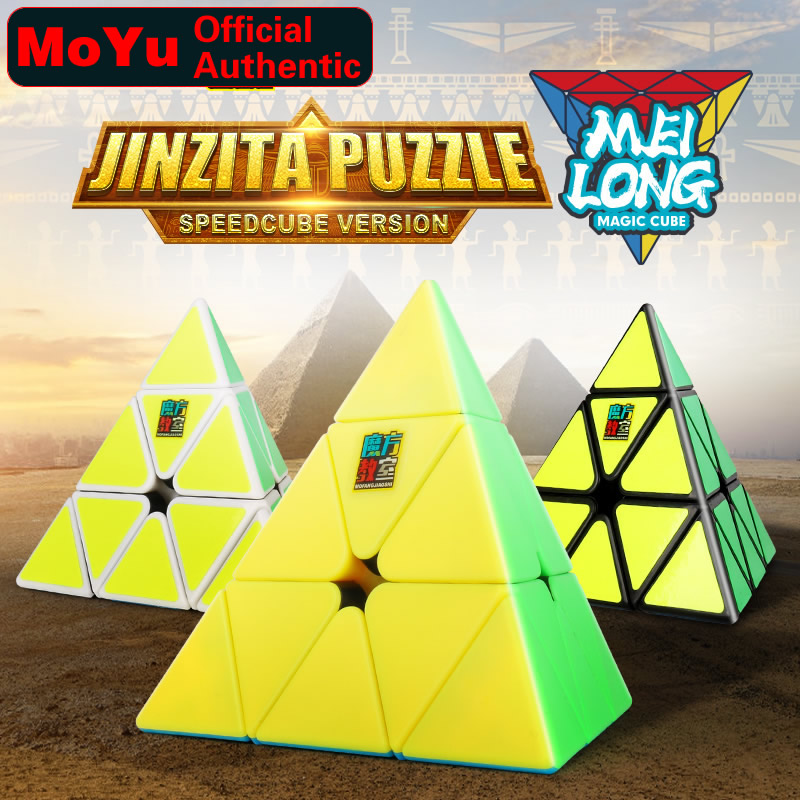 MoYu MeiLong 3x3x3 Pyraminxeds Magic Cube 3x3 Pyramid Professional Neo Speed Cube Puzzle Antistress Educational Toys
