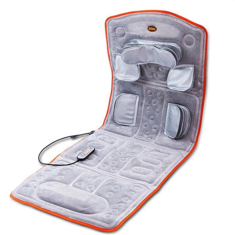 فقرات عنق الرحم تدليك تنفيذ فراش الجسم كله العديد من وظيفة وسادة غطاء كهربائي الكتف الرقبة المنزلية المسنين