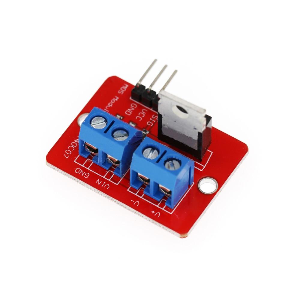 Модуль привода IRF520, модуль привода, трубка MOS, трубка с полевым эффектом, модуль привода