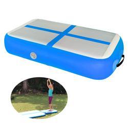 Bloque de aire de pista de gimnasia y tabla de aire pista inflable para entrenamiento de gimnasia envío gratis