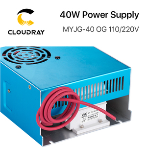 Image 2 - Cloudray 40W CO2 Laser Power Supply MYJG 40WT 110V/220V for Laser Tube Engraving Cutting Machine Model A