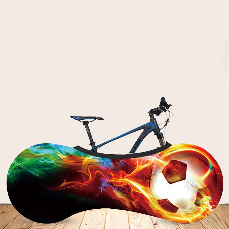 Mountain Road Bike Bicycle Wheel Cover Bike Wheels Dust-Proof Scratch-proof Cover Storage Bag Ball Pattern Bike Accessories