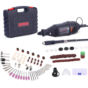 Image 1 - GOXAWEE Electric Drill Dremel Grinder Electric Engraving Mini Drill Rotary Tool Drilling Machine With Power Tools Accessories