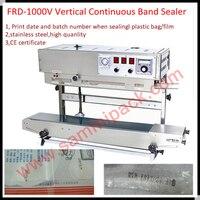100% Warranty FRD-1000V  Vertical solid ink band sealing machine Vertical ink roller band sealer for liquid paste powder package
