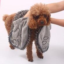 Neue Saugfähigen Handtücher für Hunde Katzen Modus Schlechte Handtuch Nano Faser Schnell trocknend Schlechte Handtuch Auto Abwischen Tuch Pet