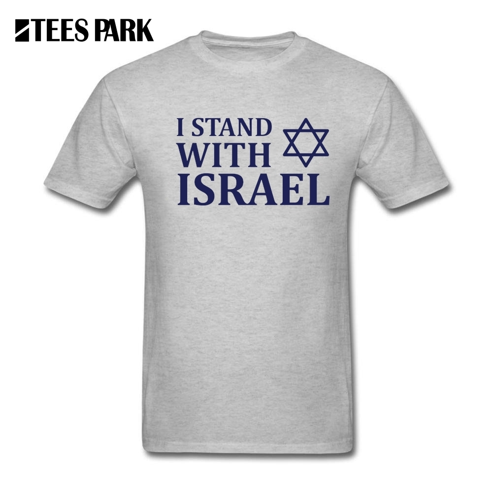 <font><b>T</b></font> <font><b>Shirt</b></font> I Stand With <font><b>Israel</b></font> Men's Organnic Cotton Tops Short Sleeve Tee <font><b>Shirts</b></font> Short Sleeve Crew Collar Teenage <font><b>T</b></font>-<font><b>Shirt</b></font> Design image