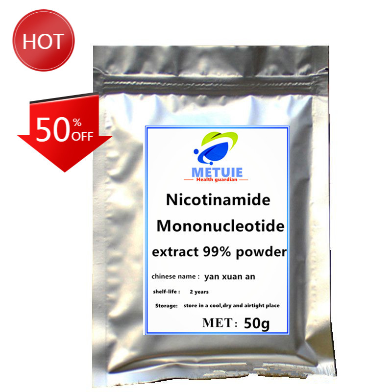Hihg quality Best Nicotinamide Mononucleotide 99% NMN Powder extract nicotinamide riboside Supplement Healthy Aging DNA-Repair .