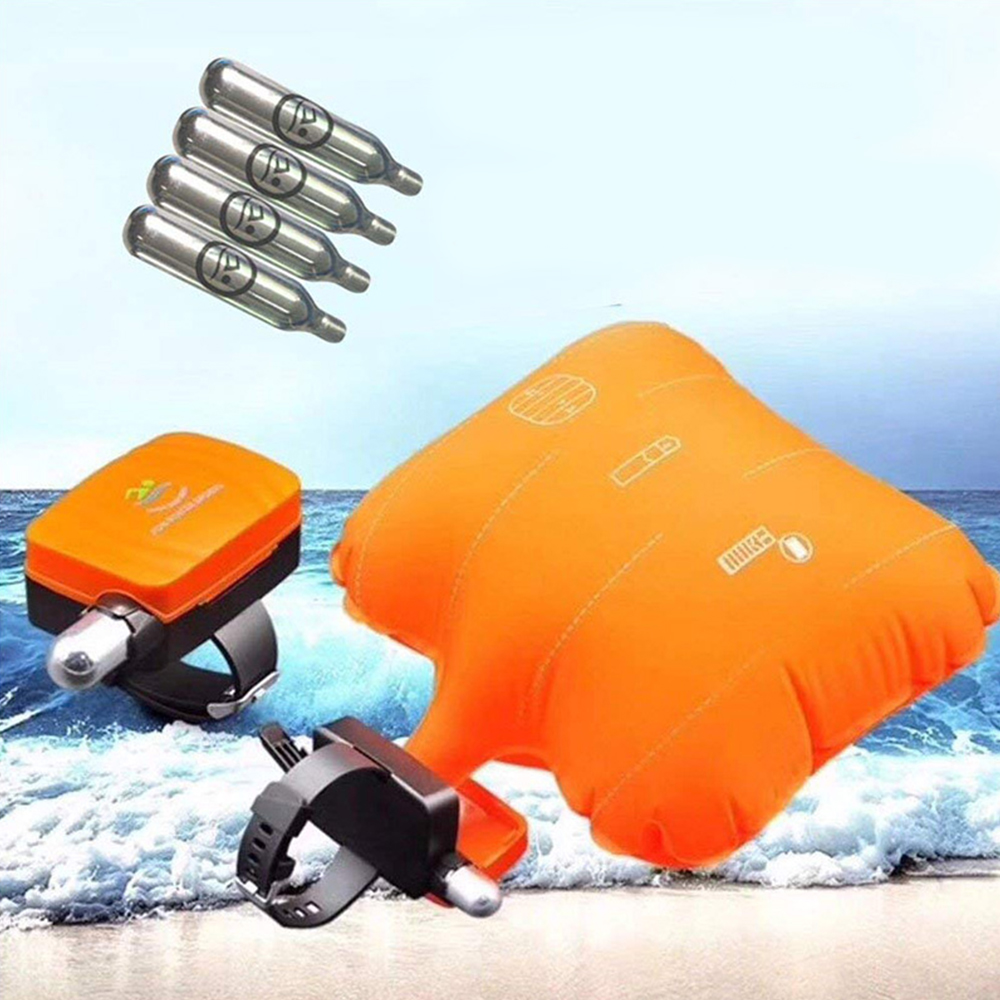 Portable Anti-Drowning Lifesaving Airbag Emergency Bracelet Safety Airbag Self-Rescue Device