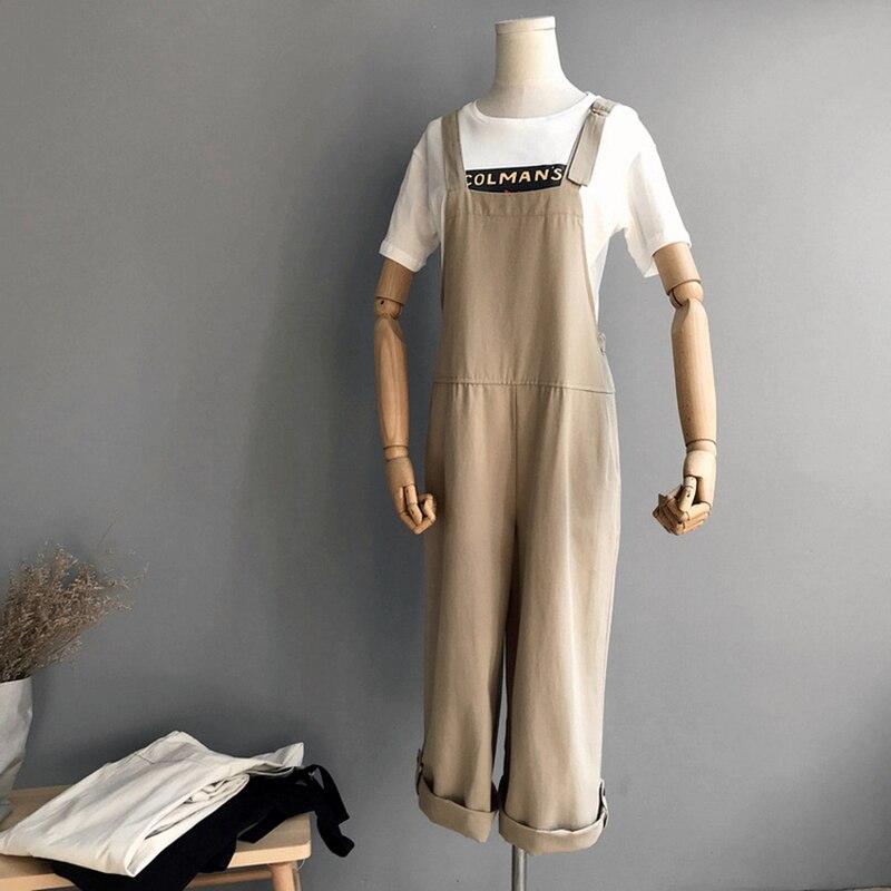 Neimai coton salopette noir body Enterizos Para Mujer Largos Elegantes mode Nova femme Monos Mujer 2019 Modis Long Buzos