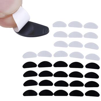 10 par okularów D kształt silikonowe akcesoria do okularów noski do okularów przeciwsłonecznych antypoślizgowe cienkie noski tanie i dobre opinie SAFENH Owalne