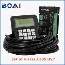 4 kontroler osi DSP system sterowania A18S RichAuto marka cnc obrabiarki system sterowania cnc części