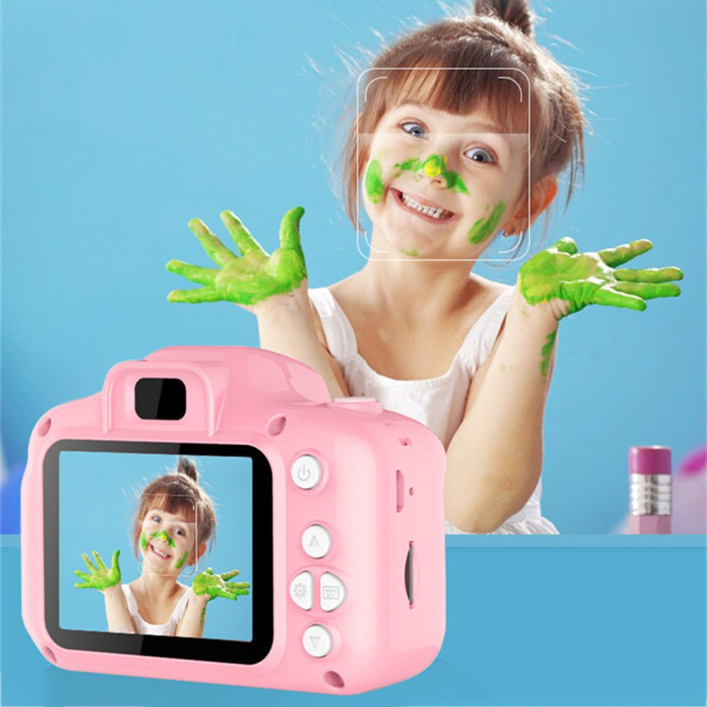 GM13 New Children's Camera Mini HD Digital Camera Children's Toy SLR Camera Cartoon Kids Digital Camera
