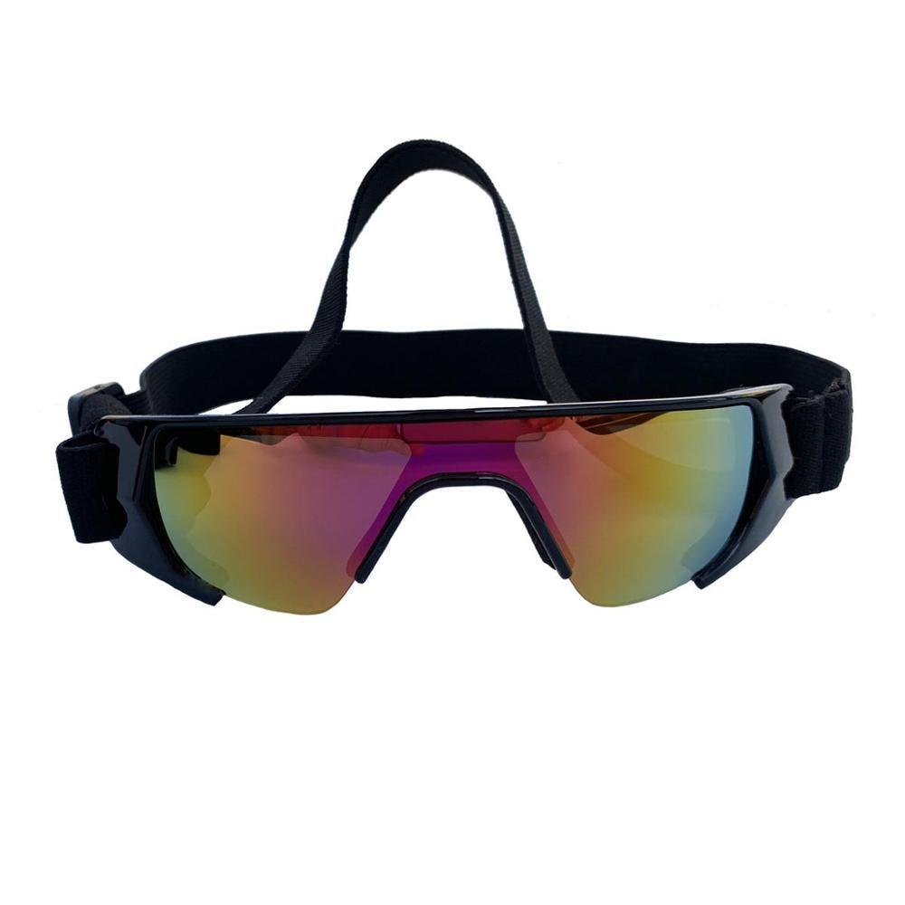 Foldable Pet Dog Glasses Medium Large Dog Pet Glasses Pet Eyewear Wind/waterproof Dog Protection Goggles UV Sunglasses