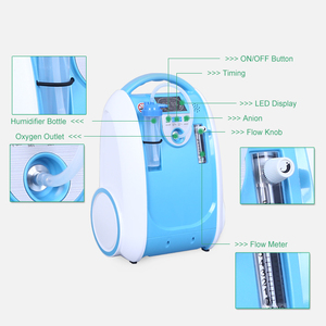 Image 3 - 5L Medical Portable Oxygen Concentrator Generator Home Oxygen Generator 24 hours continuous oxygen flow respirators