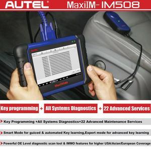 Image 2 - Autel MaxiIM IM508 OBD2 כל מערכת Daignostic סורקים IMMO מפתחות תכנות