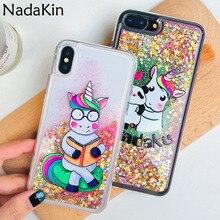 Glitter Lxury Liquid Sand Case Shell for Xiaomi Mi A2 Lite