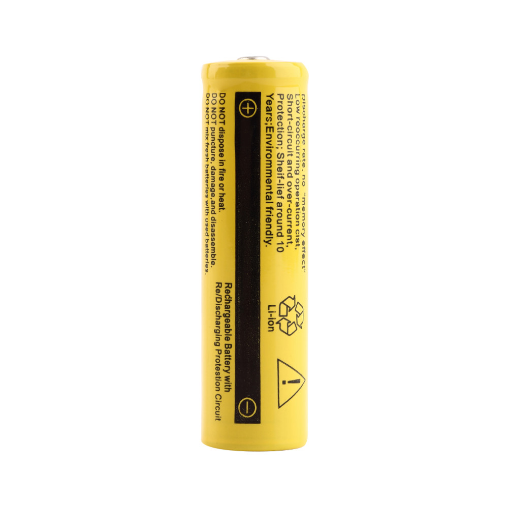 Original 2Pcs 3.7V 9800mAh 18650 Battery Lithium Batteria For Flashlight Or Other Electrical Appliances Free Shipping