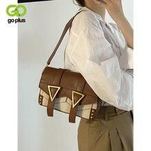Женская сумка через плечо goplus 2021 винтажные Ретро Сумки