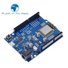 TZT חכם אלקטרוניקה ESP 12F WeMos D1 WiFi uno מבוסס ESP8266 חומת לarduino תואם IDE
