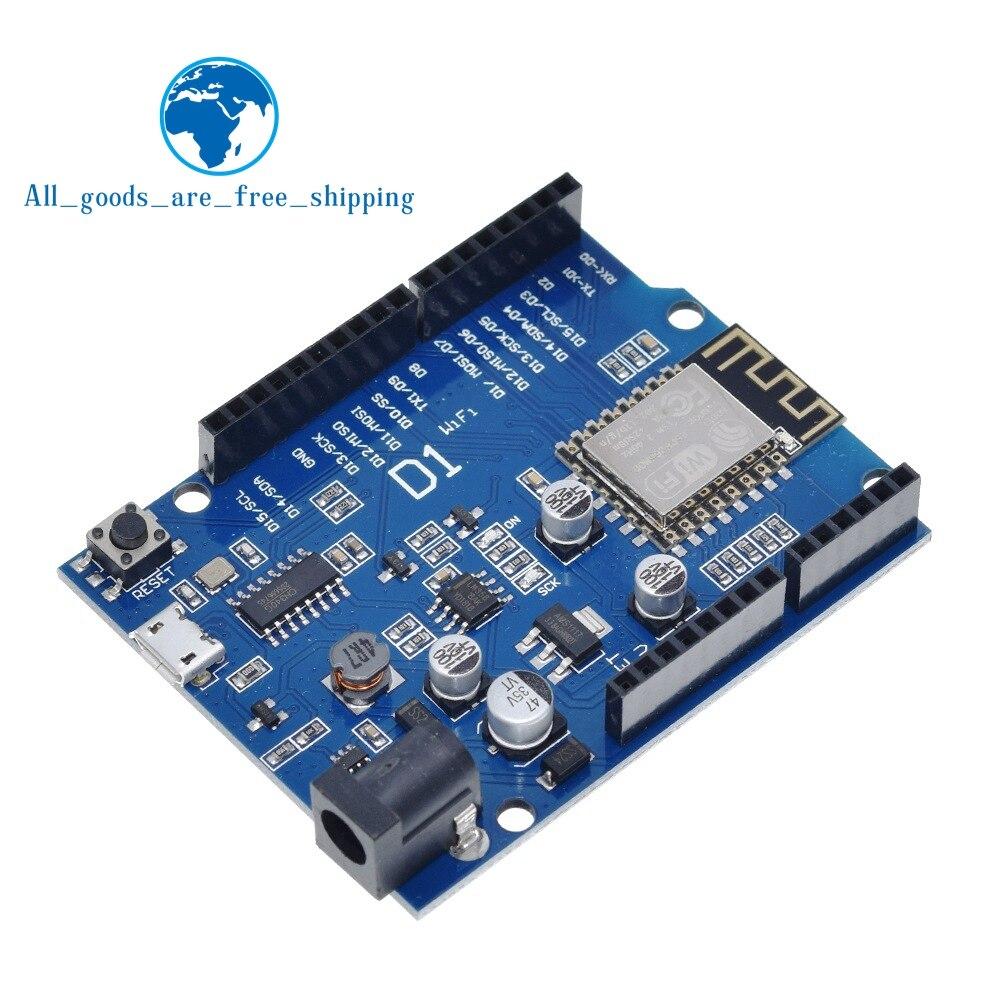 TZT умная электроника ESP-12F WeMos D1 WiFi uno на основе ESP8266 щит для arduino совместимый с IDE
