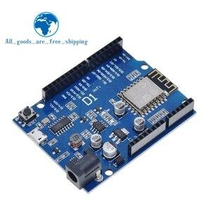 Image 1 - TZT Smart Electronics ESP 12F WeMos D1 WiFi uno based ESP8266 shield for arduino Compatible IDE