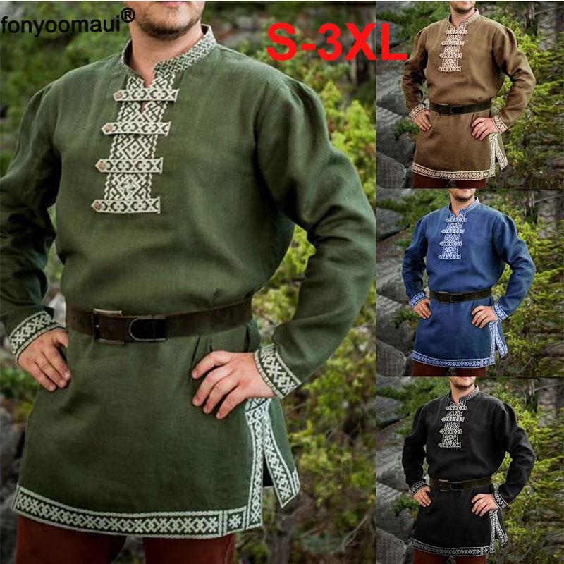 Medieval-LARP-SCA-Re-enactment HUNTSMAN 2 Men/'s Costume Sizes Small-4XL