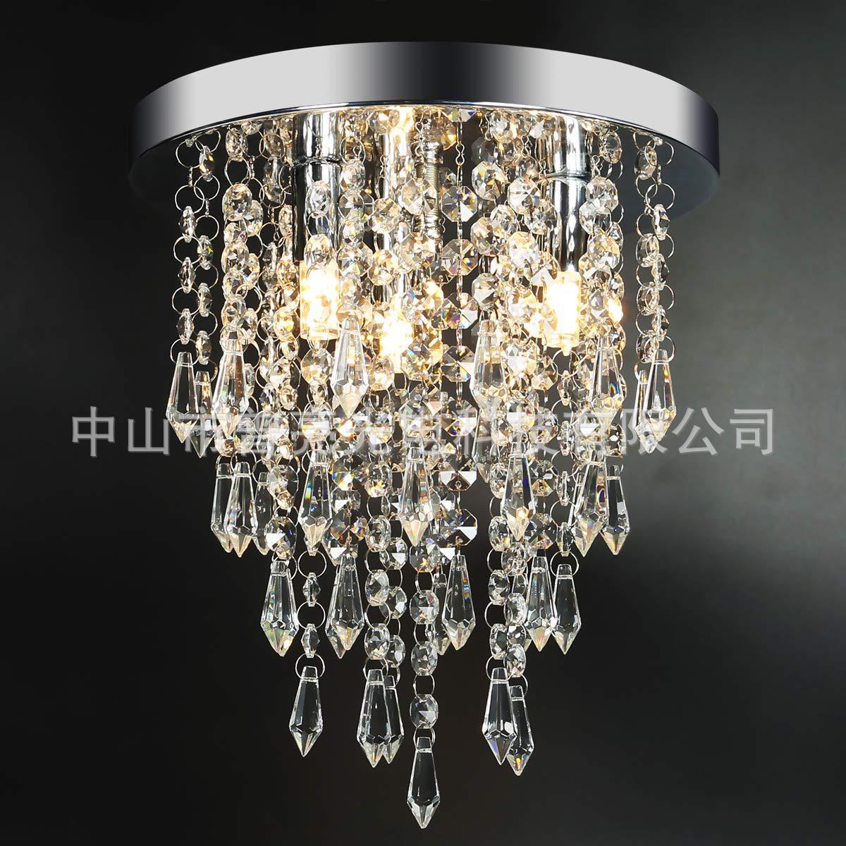 Modern Crystal Ceiling Lamp Aisle Lights Corridor Lights Entrance Lights Simple LED Crystal Pendant Lamp Manufacturers Direct Se