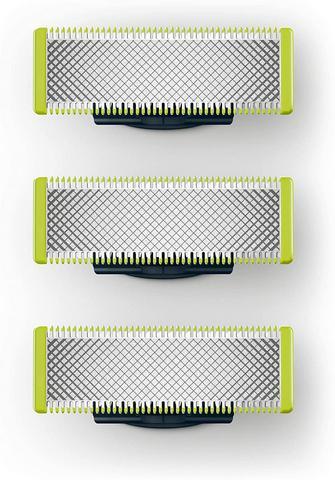 Contagem de Alta Navalha para Philips Qualidade Cabeça Norelco Oneblade Lâminas Substituição Qp210 50 220 2523 2520 2527 6520 1 – 3