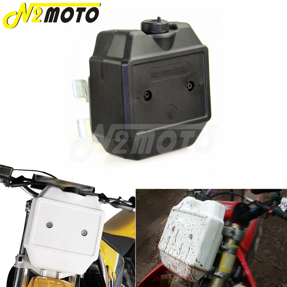 Auxiliary Fuel Tank Gas Container For Motorcycle Dirt Bike MX ATV Street
