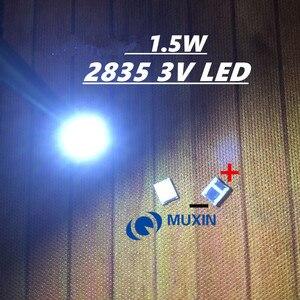 200 шт. для OSRAM СВЕТОДИОДНЫЙ подсветка высокой мощности Светодиодный 1,5 Вт 3 в 1210 3528 2835 131LM холодный белый ЖК-подсветка для ТВ приложения