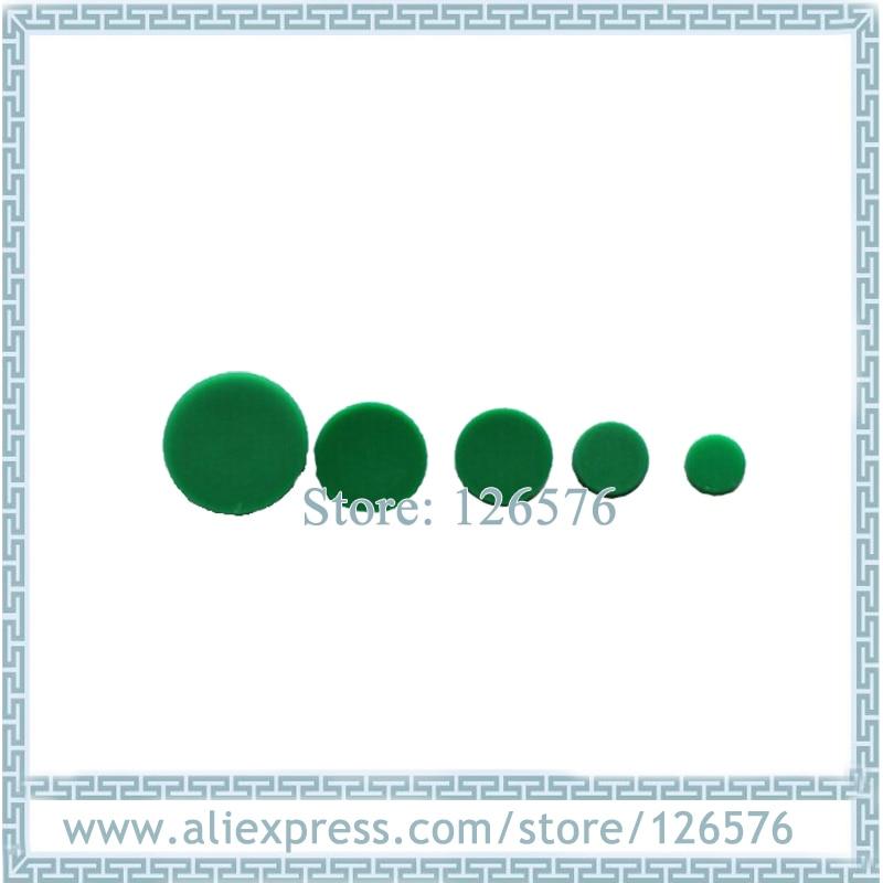 100pcs Green Caps HIWIN Dustproof Covers Rail Dust Cover C3 C4 C5 C6 C8 C12 C14 C16 For HIWIN Rail HGR15/20/25/30/35/45/55/65